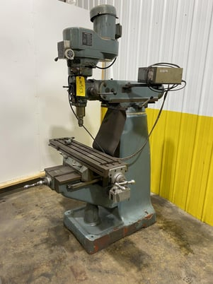 """Image 1 for Alliant, ram type vertical mill, 9"""" x42"""" table, #10353"""