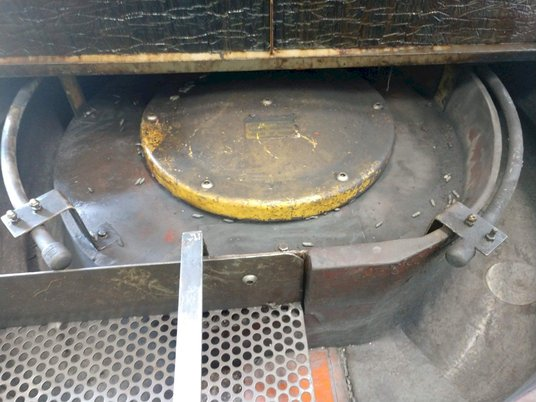 Image 5 for Almco #OR-5VLR, 4.2 cu.ft., rotary vibratory finisher, 3 HP, #10639