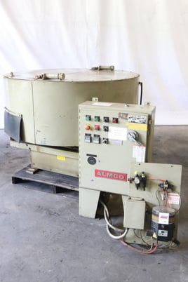 Image 9 for Almco #OR-5VLR, 4.2 cu.ft., rotary vibratory finisher, 3 HP, #10639