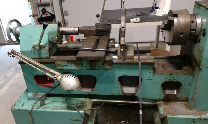 """Image 6 for 15"""" x 32"""" Harrison #L15, 10"""" chuck, 2"""" thru hole, geared head, tailstock, 230 V., 3 phase"""