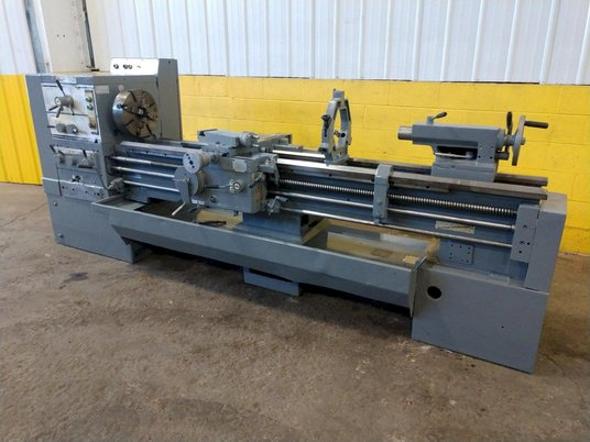 """Image 1 for 8.5"""" x 95"""" Summit, 12.5"""" chuck, 4-jaw, 2"""" bore, 25-2000 RPM, engine lathe, 2 Steady Rest, #12269"""