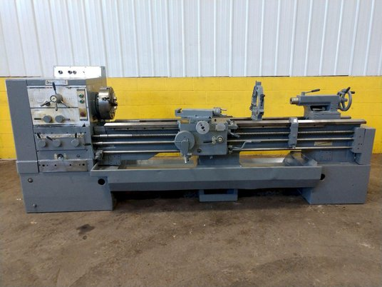 """Image 2 for 8.5"""" x 95"""" Summit, 12.5"""" chuck, 4-jaw, 2"""" bore, 25-2000 RPM, engine lathe, 2 Steady Rest, #12269"""