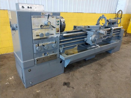 """Image 3 for 8.5"""" x 95"""" Summit, 12.5"""" chuck, 4-jaw, 2"""" bore, 25-2000 RPM, engine lathe, 2 Steady Rest, #12269"""