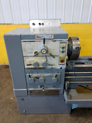 """Image 4 for 8.5"""" x 95"""" Summit, 12.5"""" chuck, 4-jaw, 2"""" bore, 25-2000 RPM, engine lathe, 2 Steady Rest, #12269"""