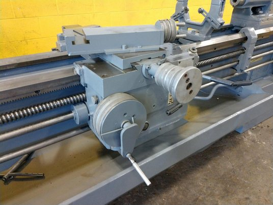 """Image 9 for 8.5"""" x 95"""" Summit, 12.5"""" chuck, 4-jaw, 2"""" bore, 25-2000 RPM, engine lathe, 2 Steady Rest, #12269"""