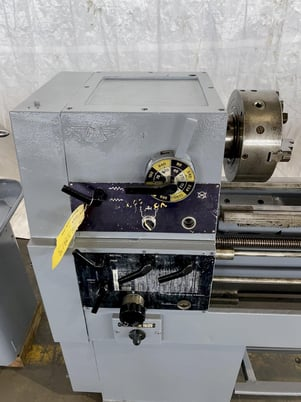 """Image 3 for 15"""" x 50"""" Enterprise #1550, engine lathe, inch/metric threading, steady rest, coolant, foot treadle, 44-2000 RPM"""