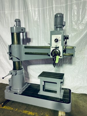 """Image 1 for Willis Bergo #1250, radial arm drill, 12"""" x 50"""", #0621020"""