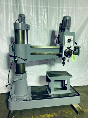 """Image 2 for Willis Bergo #1250, radial arm drill, 12"""" x 50"""", #0621020"""