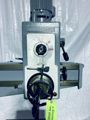 """Image 5 for Willis Bergo #1250, radial arm drill, 12"""" x 50"""", #0621020"""