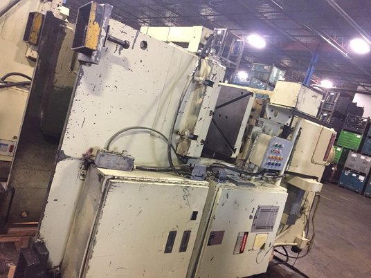 "Image 2 for 100 Ton, Niagara #E-90-S, gap frame press, 4.5"" stroke, 15.75"" shut height, 4.5"" adjustment, 25"" x 39"" bed, 46 SPM, 1989"
