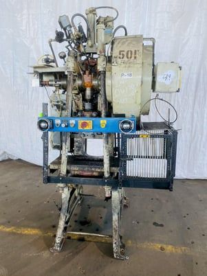 "Image 1 for 28 Ton, Walsh #28, OBI press, 3"" stroke, excellent"