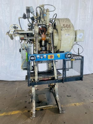 "Image 3 for 28 Ton, Walsh #28, OBI press, 3"" stroke, excellent"