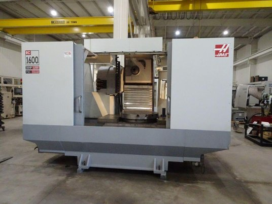 "Image 1 for Haas #EC-1600-4X, 30 automatic tool changer, 64"" X, 40"" Y, 32"" Z, 7500 RPM, #50, 30 HP, rigid tap, 4-Axis, thru spindle coolant, 2005"