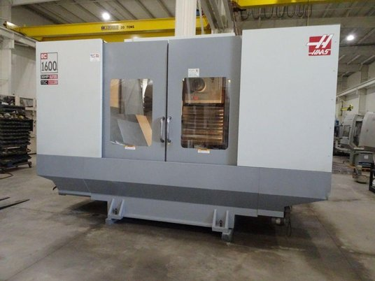 "Image 2 for Haas #EC-1600-4X, 30 automatic tool changer, 64"" X, 40"" Y, 32"" Z, 7500 RPM, #50, 30 HP, rigid tap, 4-Axis, thru spindle coolant, 2005"