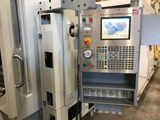 "Image 10 for Haas #EC-1600-4X, 30 automatic tool changer, 64"" X, 40"" Y, 32"" Z, 7500 RPM, #50, 30 HP, rigid tap, 4-Axis, thru spindle coolant, 2005"