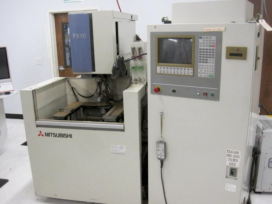 """Image 1 for Mitsubishi #FX-10, 5-Axis wire Electrical Discharge Machine, 13.77"""" X, 9.84"""" Y, 35.4"""" Z, 24.8"""" x 20.86"""" table, 1997"""