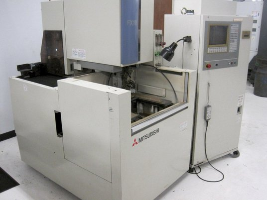 """Image 2 for Mitsubishi #FX-10, 5-Axis wire Electrical Discharge Machine, 13.77"""" X, 9.84"""" Y, 35.4"""" Z, 24.8"""" x 20.86"""" table, 1997"""