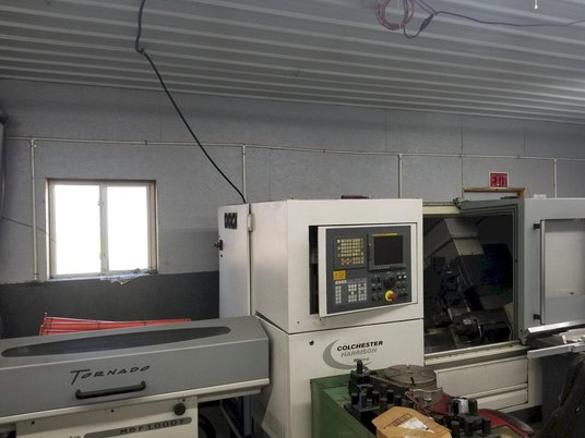 """Image 1 for Colchester Harrison Tornado #T6MS, CNC turn center, Fanuc 18iTB, 17.3"""" swing, 2.1"""" bar, 2008"""