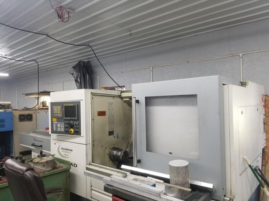 """Image 2 for Colchester Harrison Tornado #T6MS, CNC turn center, Fanuc 18iTB, 17.3"""" swing, 2.1"""" bar, 2008"""
