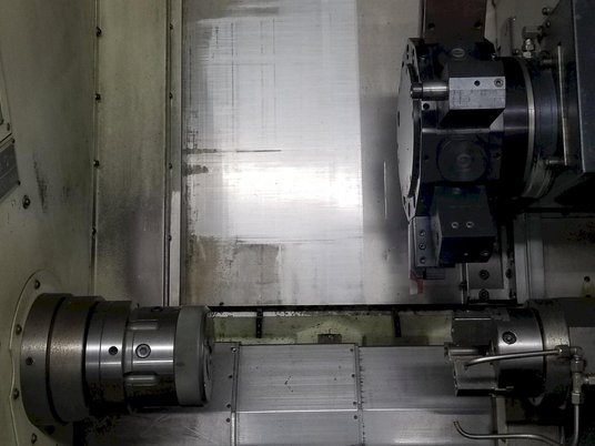 """Image 3 for Colchester Harrison Tornado #T6MS, CNC turn center, Fanuc 18iTB, 17.3"""" swing, 2.1"""" bar, 2008"""