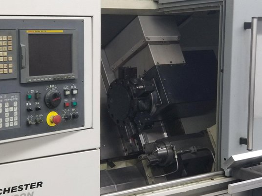 """Image 4 for Colchester Harrison Tornado #T6MS, CNC turn center, Fanuc 18iTB, 17.3"""" swing, 2.1"""" bar, 2008"""