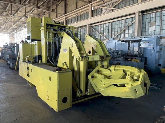 """Image 1 for 3 Ton, Herr Voss Stamco #MMR6-6, Hydraulic Forging Manipulator, 6000 Lb. x 24"""",  13""""-18"""" rectangle capacity, 135 HP, 2010"""