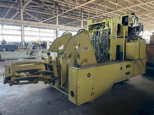 """Image 2 for 3 Ton, Herr Voss Stamco #MMR6-6, Hydraulic Forging Manipulator, 6000 Lb. x 24"""",  13""""-18"""" rectangle capacity, 135 HP, 2010"""