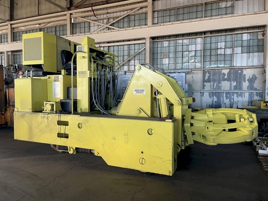 """Image 4 for 3 Ton, Herr Voss Stamco #MMR6-6, Hydraulic Forging Manipulator, 6000 Lb. x 24"""",  13""""-18"""" rectangle capacity, 135 HP, 2010"""