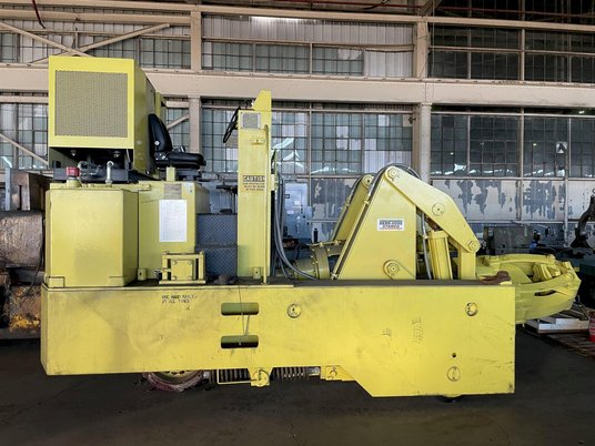 """Image 5 for 3 Ton, Herr Voss Stamco #MMR6-6, Hydraulic Forging Manipulator, 6000 Lb. x 24"""",  13""""-18"""" rectangle capacity, 135 HP, 2010"""