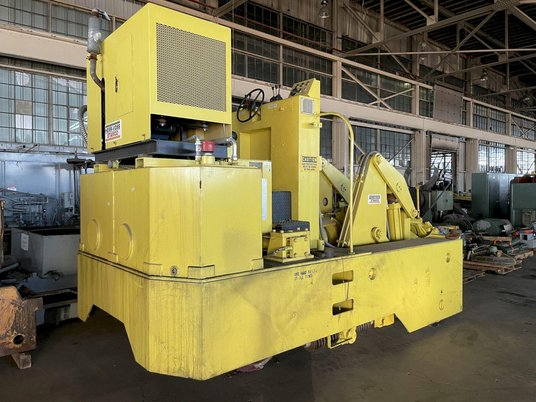 """Image 6 for 3 Ton, Herr Voss Stamco #MMR6-6, Hydraulic Forging Manipulator, 6000 Lb. x 24"""",  13""""-18"""" rectangle capacity, 135 HP, 2010"""