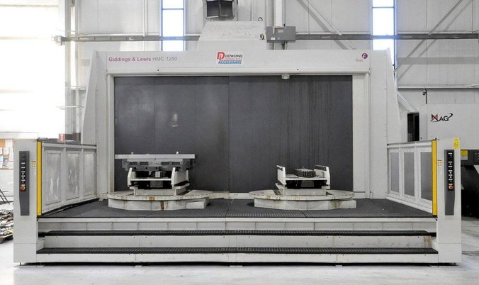 """Image 1 for Giddings & Lewis #HMC-1250, horizontal machining center, 90 automatic tool changer, 106.3"""" X, 70.9"""" Y, 68.9"""" Z, 10000 RPM, #50, Siemens 840D, thru spindle coolant, 2008"""