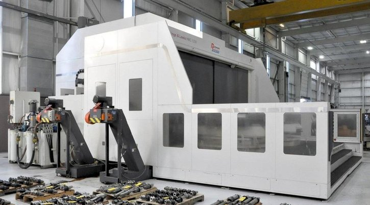 """Image 2 for Giddings & Lewis #HMC-1250, horizontal machining center, 90 automatic tool changer, 106.3"""" X, 70.9"""" Y, 68.9"""" Z, 10000 RPM, #50, Siemens 840D, thru spindle coolant, 2008"""