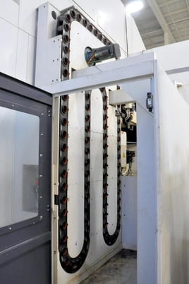 """Image 9 for Giddings & Lewis #HMC-1250, horizontal machining center, 90 automatic tool changer, 106.3"""" X, 70.9"""" Y, 68.9"""" Z, 10000 RPM, #50, Siemens 840D, thru spindle coolant, 2008"""