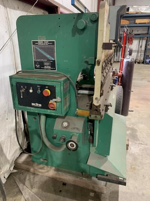 """Image 2 for 32 Ton, Adira #QHA-3215, hydraulic press brake, up-acting, 5' overall, 43.3"""" between housing, Hurco 2-Axis CNC Back Gauge"""