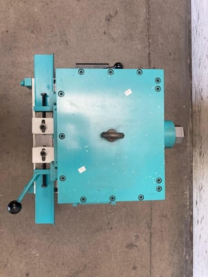 """Image 7 for Large End Forging Attachment, Hebo #EAS3, 1"""" x1"""" sq., 1"""" round, 3/8"""" x2"""" flat, 2020"""