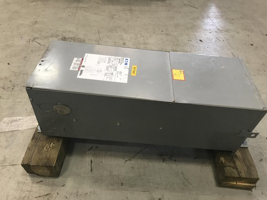 Image 1 for 15 KVA 480 Primary  240/120 Secondary , Eaton, dry type, #MT7947