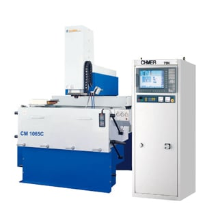 """Image 1 for Chmer #CM1065C +150N, CNC Sinker, 40 x 24 x 20"""" travels, glass scales, 6-position AEC, 150 amp, chiller, 2011"""