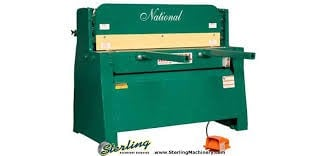 """Image 1 for 1/4"""" x 4' National #NH4825, hyd.rubber inserted holddowns, steel cutter heads & tables, 7.5 HP, new, #SMNH4825"""
