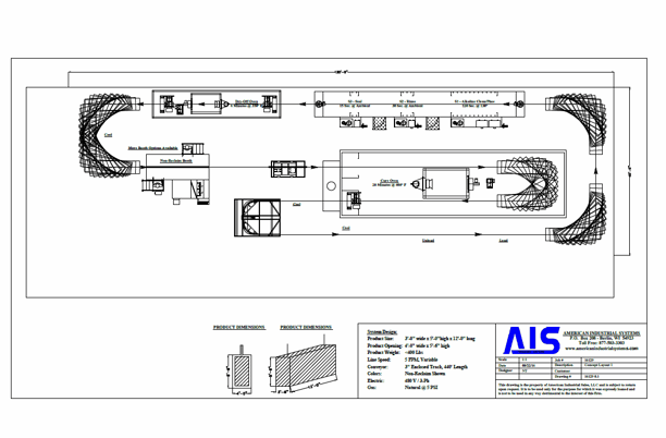 """Image 1 for 3 Stage powder coating system, Rapid / Wagner, 4' W x 5'-6"""" H open, Stainless Steel washer, complete"""