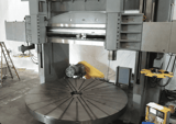 """Image for 168"""" Danco #168, CNC vertical boring mill, 180"""" swing, 120"""" height under a 10"""" tall tool, 75 ton table capacity"""