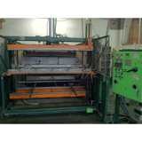 """Image for Lyle #46, used single station thermoformer, 48"""" x72"""" mold size, top & bottom calrod ovens"""