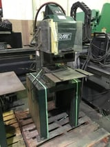 """Image for 10 Ton, RMT #10C, pneumatic toggle press, 1.5"""" stroke, 8.5"""" throat, 80 psi, machine stand"""