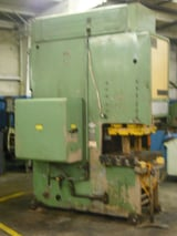 """Image for 42 -75 Ton, Cincinnati #OBS110, hydraulic gap frame press, 10"""" stroke, 42"""" x 27"""" bed, 25 HP, programmable forming speeds, pre-owned"""