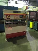 """Image for 25 Ton, Accurpress #7-25-4, hydraulic brake press, 4' OA, 51"""" BH, 3-Axis, 220/440 V., 1999"""