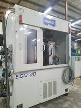 Image for Nagel #ECO40, CNC bore hone, twin spindle, 3-40mm bore, 1700 RPM, 4.5 HP, rotary index table, AB Control