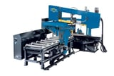 """Image for 16"""" x 24"""" DoAll #DCDS-600NC, dual column dual miter, 239"""" blade, 65-328 FPM, new"""