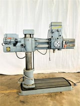 """Image for 4' -9"""" Giddings & Lewis Bickford Chipmaster #951, radial arm drill, 54"""" x25"""" base, #4MT, coolant, 5 HP"""