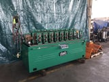 """Image for 8 Stand, Tishken #8-MHW, 1.5"""" dia. spindle, 6"""" roll space, 9"""" horiz. centers, 7.5 HP, air clutch, #10483"""