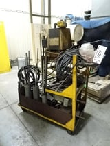 Image for Enerpac #PER2037, hydraulic pump system, cart, hydraulic cylinders, #10811