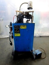 Image for MicroWeld #RW-2, ring butt welder, Interlock #105 weld Control, on casters, foot pedal